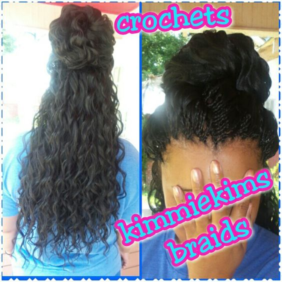 ... loose deep wave KimmieKims Braids Pinterest Waves and Crochet
