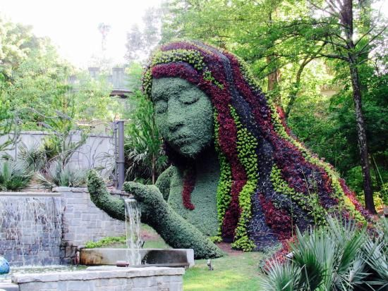 Atlanta Botanical Garden Lady Atlanta Botanical Garden