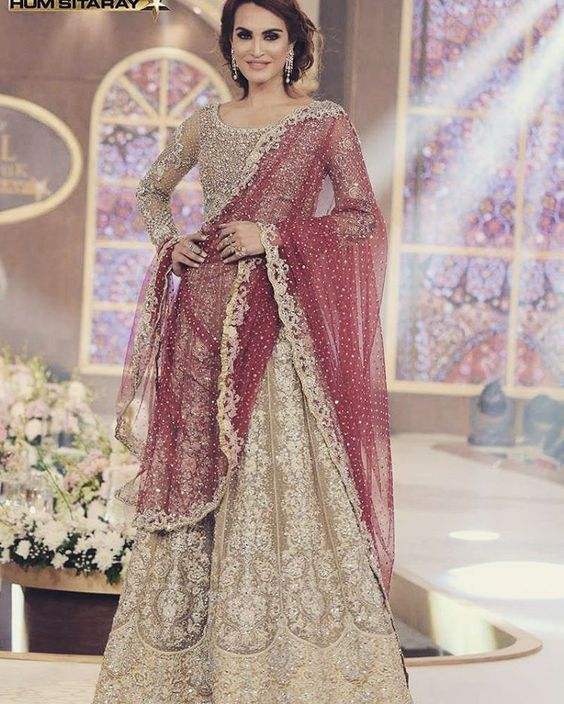 """""""#mariabbrides #regal #glamerous #tbcw2015 collection exhibition in lahore gulberg!!! Visit now to see the gorgeous collection!"""""""