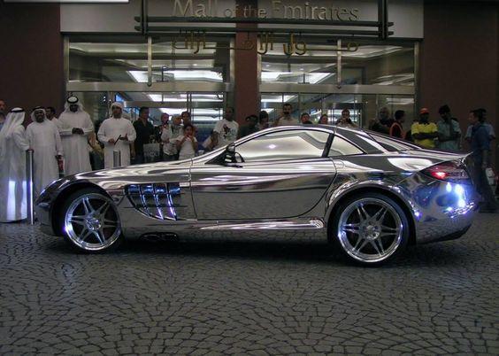 Emirados - Carro de Prata