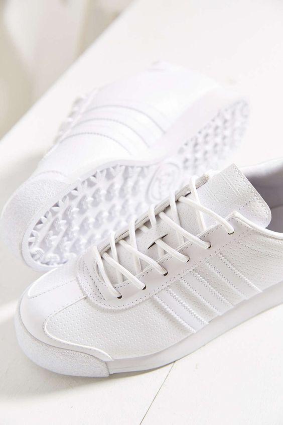 adidas Originials Samoa White Sneaker - Urban Outfitters: