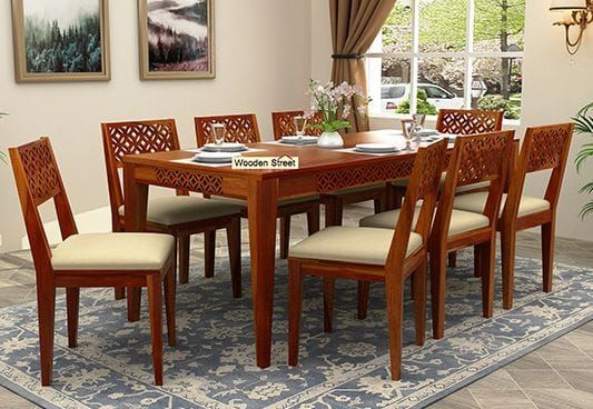 Cambrey 8 Seater Dining Set 8 Seater Dining Table Buy Dining