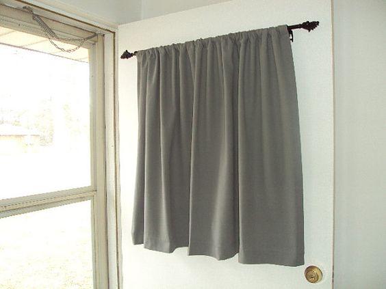 BACK DOOR, Window Curtain, Front Door Curtain