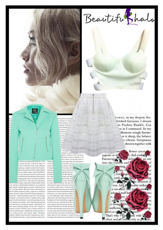 """""""Beautifulhalo"""" by merima-gutic ❤ liked on Polyvore featuring Oris, McQ by Alexander McQueen, women's clothing, women, female, woman, misses and juniors"""