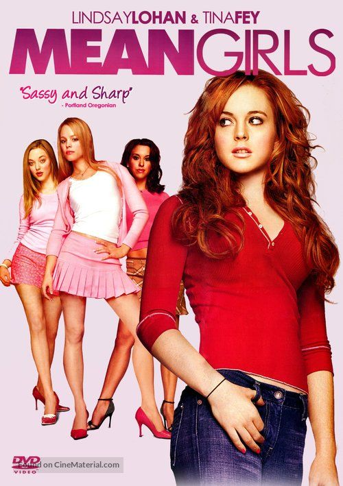 Mean Girls movie cover in 2020 | Mean girls movie, Mean girls, Girl movies