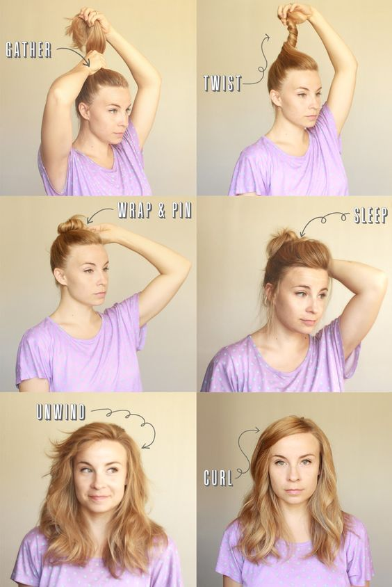 Über Chic for Cheap: Hair Tutorial: Spin Pin Waves