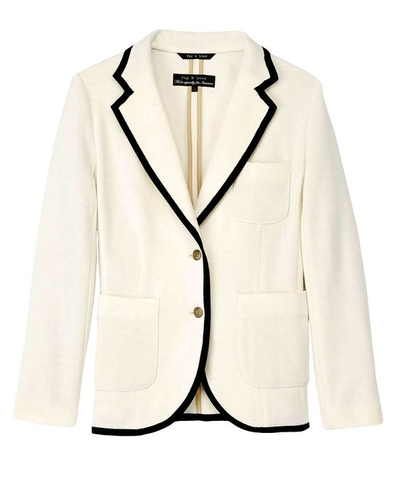 I want, Rag & Bone, Bromley Blazer: Blazers Outerwar, White Blazer, Fashion Style, Bromley Blazer, Rag And Bone, Blazer Rag, Bone Bromley