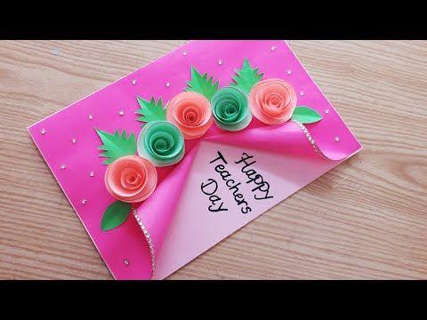 Special Handmade Teacher S Day Card Beautiful Teacher S Day Card Making Teachersdaycard Y Teachers Day Card New Year Cards Handmade Card Design Handmade