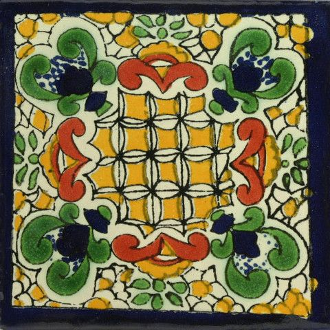 Traditional Mexican Tile - Campo Santo