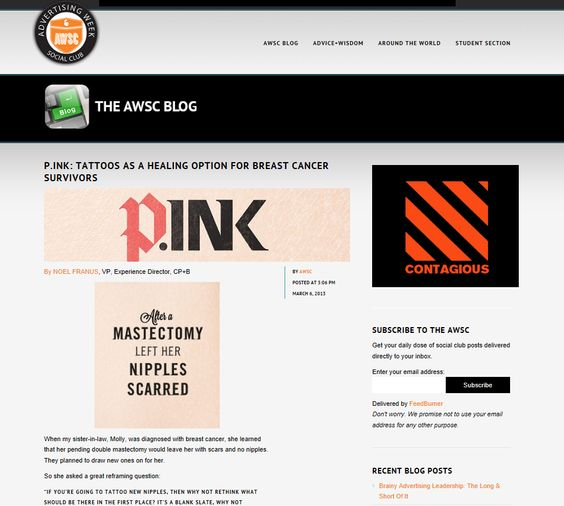 articles blog advertising