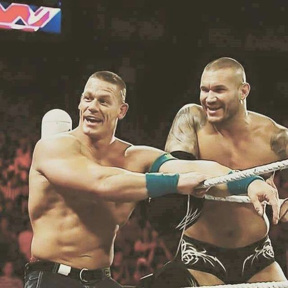 John Cena & Randy Orton are best friend in real life ...