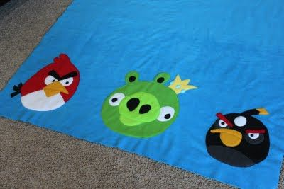 Obsessively Stitching: Angry Birds Blanket!