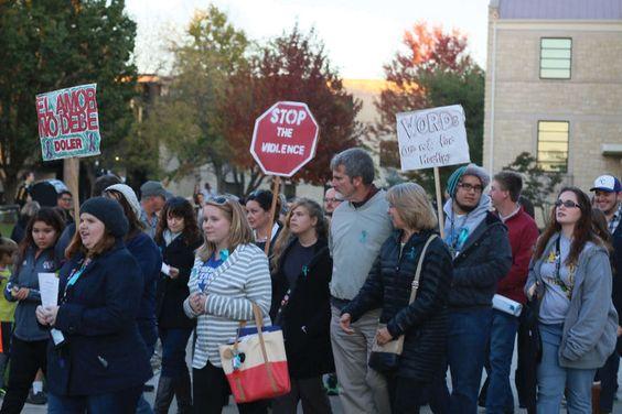 Take Back the Night raises campus awareness