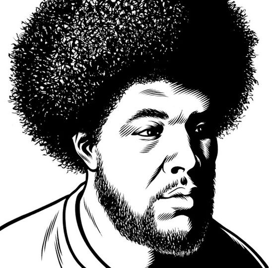 QUESTLOVE © Charles Burns