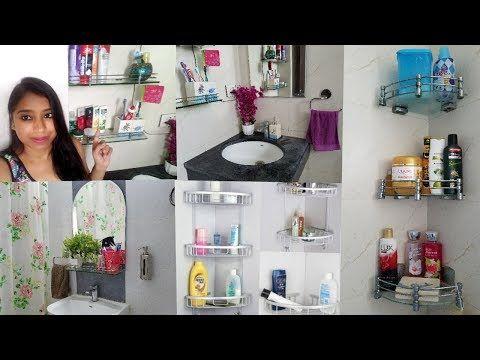Indian Small Bathroom Organization Indian Bathroom Storage Ideas Indian Mom Studio Youtube Indian Bathroom Small Bathroom Organization Small Bathroom Diy