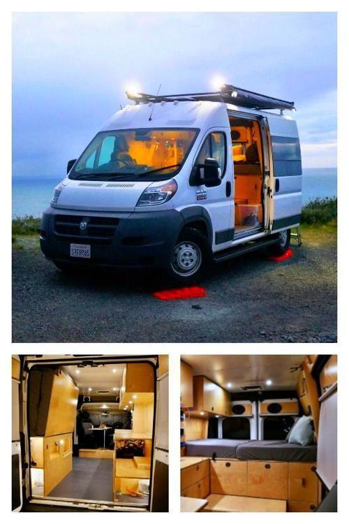 Ram Das In 2020 Custom Camper Vans Dodge Camper Van Custom Campers