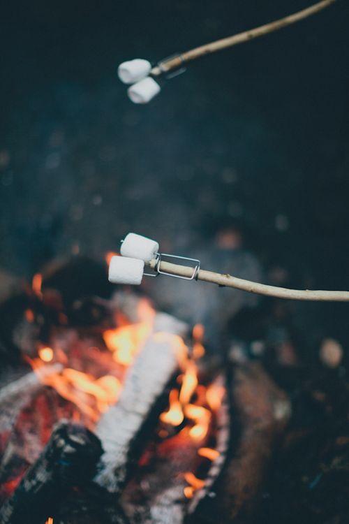 Roasting marshmallows