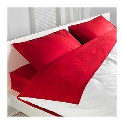 Ich kaufte die Bettwäsche. Die Bettwäsche kostet 80 euro.
