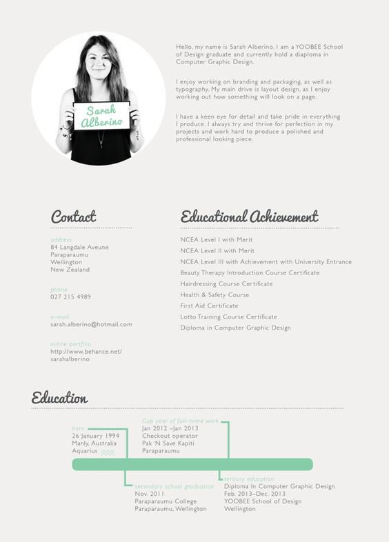 creative Curriculum Vitae Pinterest Curriculum - beauty therapist resume