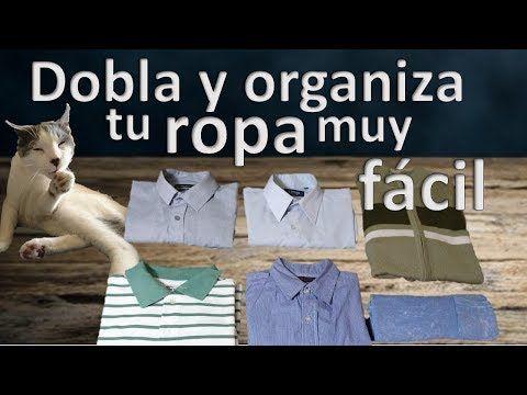 Cómo Doblar Y Organizar Tus Camisas En Segundos Muy Fácil Youtube Camisas Manga Larga Doblar Suéter Camisas