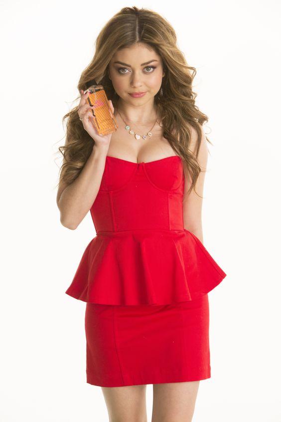 Sarah Hyland for Heart Calgon- Hot Date perfume    http://designyourownperfume.co.uk/
