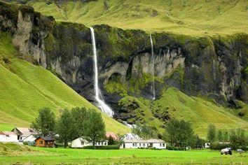 Hermosos-paisajes-cascadas-wallpapers-hamrafoss_hamlet _iceland
