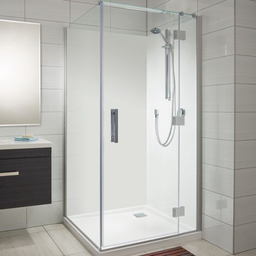 A Modern And Easy To Install Shower Wall Panel Are These High Gloss Wall Panels They Look Like Glass Shower Wall Acrylic Wall Panels Acrylic Shower Walls