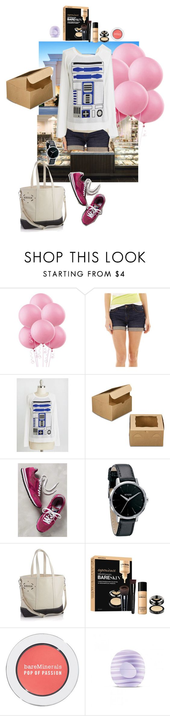 """""""9/24 (Morning)"""" by mana-g ❤ liked on Polyvore featuring jcp, Brooks, Nixon, Crate and Barrel, Bare Escentuals and Eos"""
