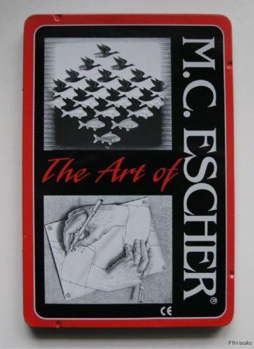 M.C. Escher # THE ART of color PENCILS# nm++, tin