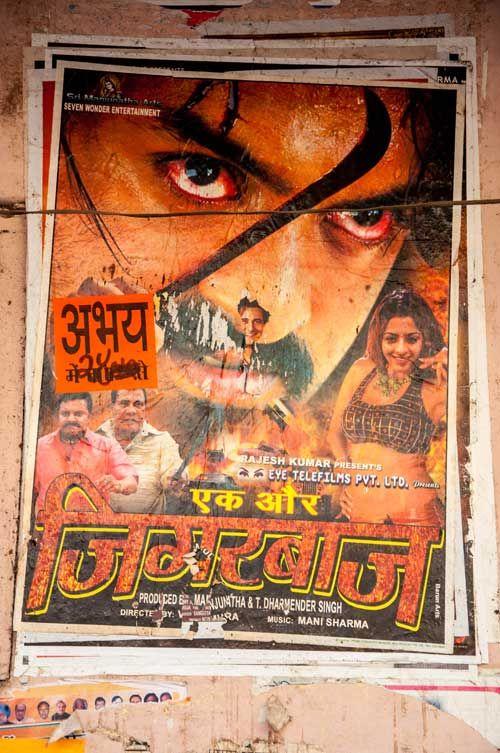 No. 23: Bollywood © Andrea Glaubacker | In indischen Kinos wird mitgelitten, mitgeliebt, mitgekämpft und mitgelacht.