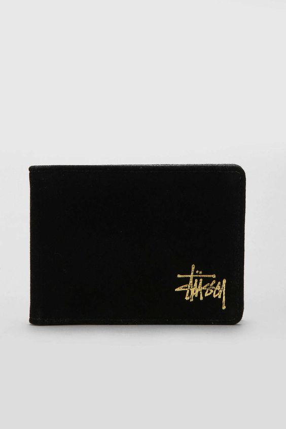 Stussy X UO Velvet Wallet - Urban Outfitters