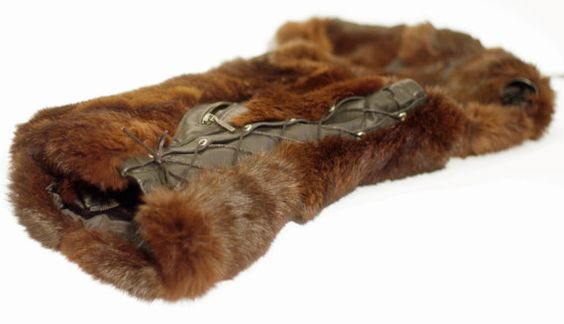 Wild Real Fox Fur Woman Vest by TeddyGdesign on Etsy