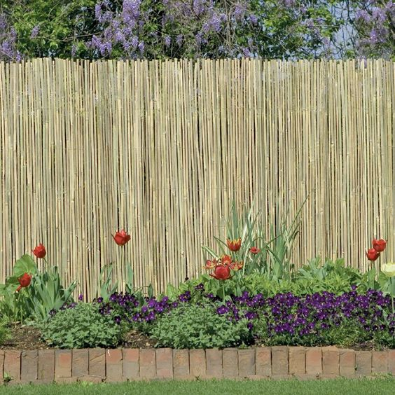 Flower beds privacy panels and products on pinterest for Flower bed fencing