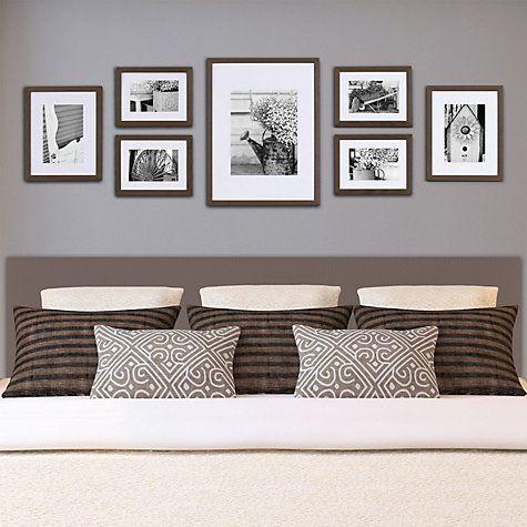 Gallery Perfect Photo Frames Set Of 7 Black Bedroom Decor