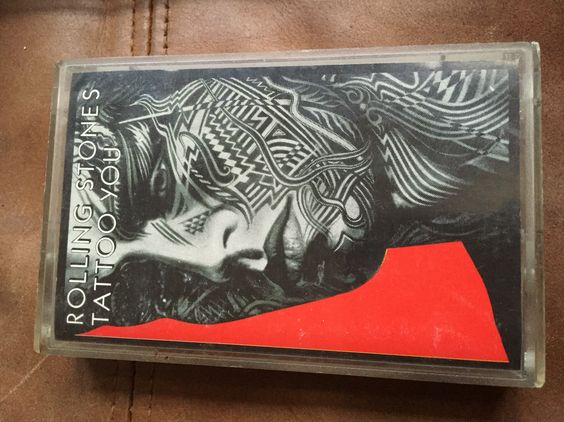 The Rolling Stones - Tattoo You cassette tape