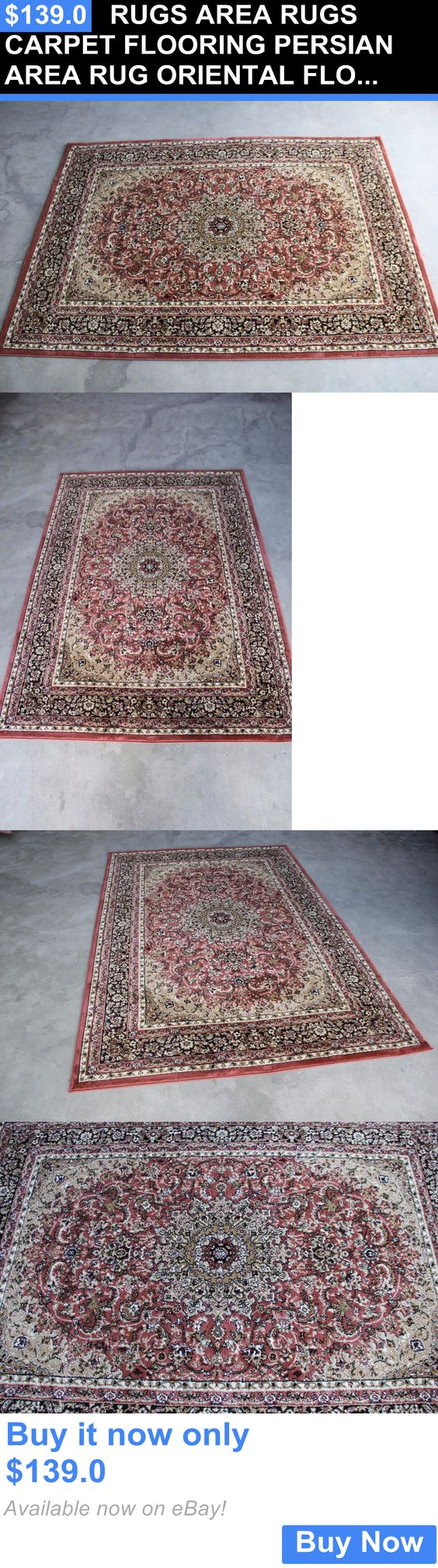 household items: Rugs Area Rugs Carpet Flooring Persian Area Rug Oriental Floor Decor Large Rugs~ BUY IT NOW ONLY: $139.0