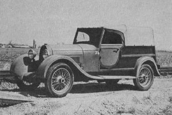 Bugatti t 40 Hunt break # 40485