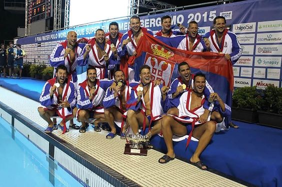 Serbia ♥ water polo team -2015 World Championships