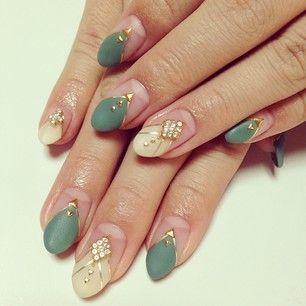 matte color nails
