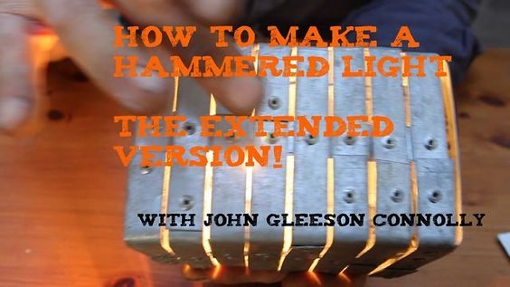 How To Build a Hammered Light