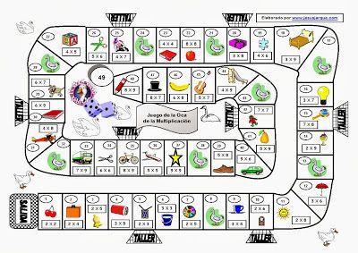 CLUB DE IDEAS | Juegos de mesa para practicar operaciones matemáticas ~ La Eduteca