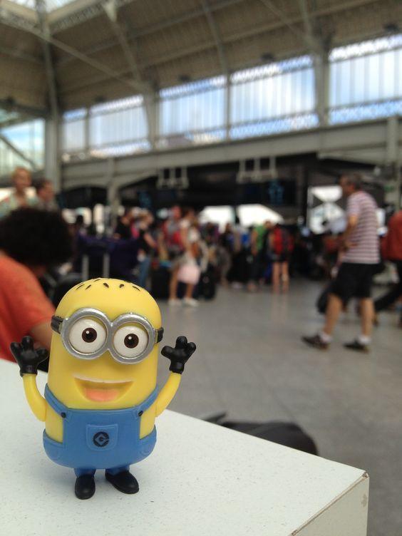 Minion à la Gare de Lyon