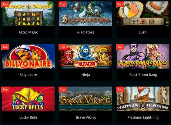 Casino games available on Playamo casino
