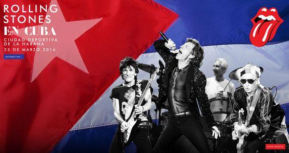 Los Rolling Stones darán un concierto gratuito en Cuba
