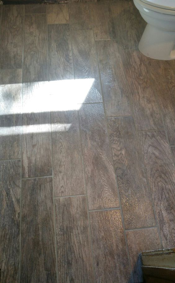 Porcelain Floor Grey Grout And Porcelain On Pinterest
