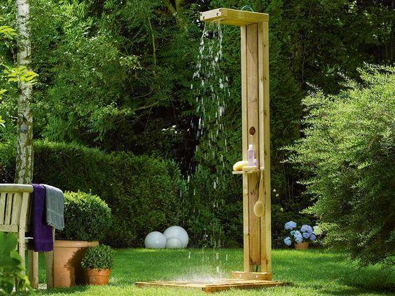 Toom Kreativwerkstatt Gartendusche Sommerregen Gartendusche Gartendusche Selber Bauen Wasserspielplatz