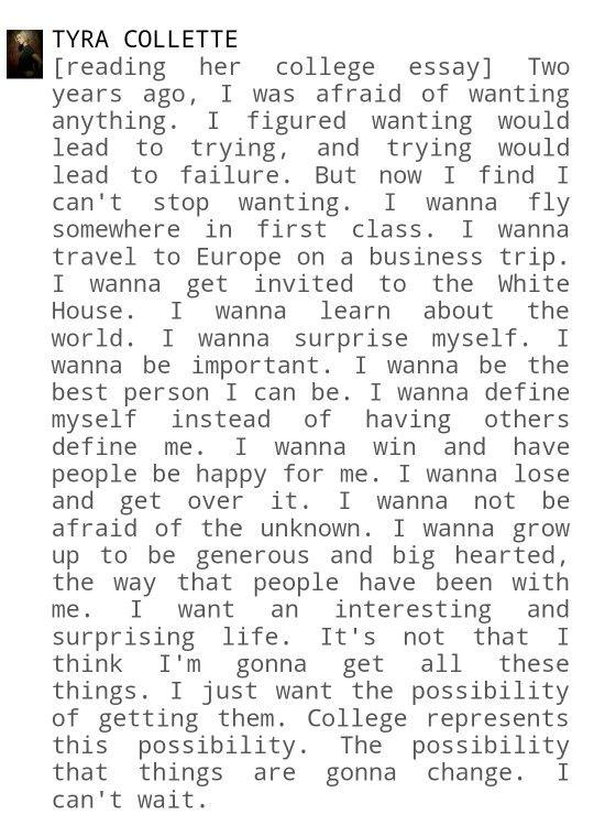 college essay quotes