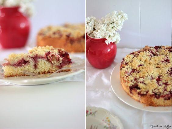 Neulich im Leben: Erdbeer-Rhabarberkuchen und das Leben wie es sein sollte