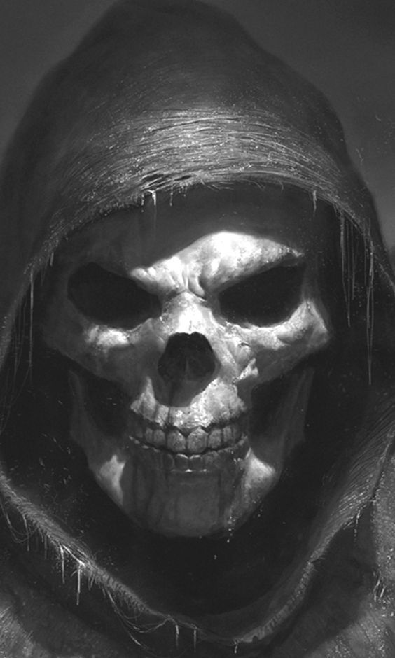 Get Someone Fired Spell To Remove Them From Workplace Grim Reaper Art Skull Pictures Skull Artwork