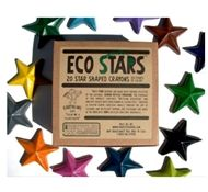 Eco-friendly school supplies (star shaped crayons - fun)